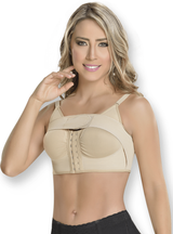 Fajas M & D Post Surgical Bra With Implants Stabilizer