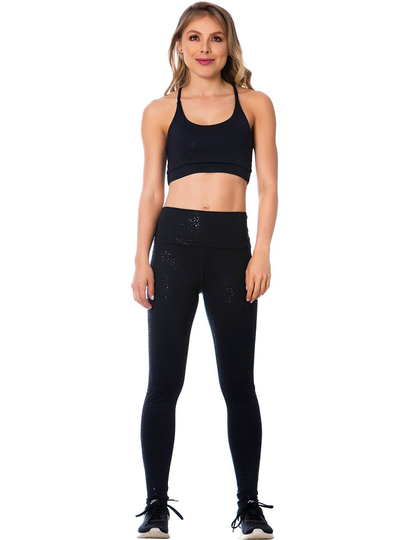Flexmee High Rise Black Leggings for Women