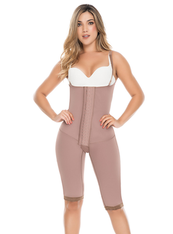 Delie by Fajas D'Prada Waist Reducing Girdle with Maximum Compression & High Back