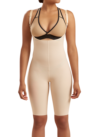 MARENA GIRDLE WITH HIGH BACK- SHORT LENGTH- NO CLOSURE