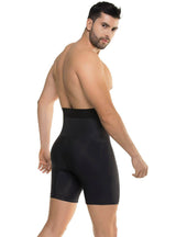 Cysm Men's High Waist Abdomen Control Boxer Brief