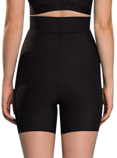 MARENA HIGH-WAIST MINI SHORTS