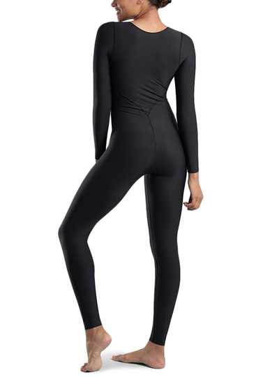 MARENA LONG-SLEEVE COMPRESSION BODYSUIT