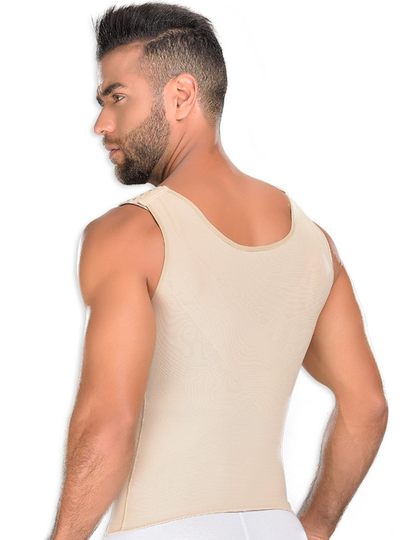 Fajas M & D Lipo Waist Vest with Foam Side Pads