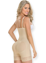 Fajas M & D Strapless With Inner Bottom Zipper