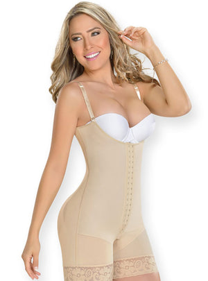 Fajas M & D Butt Lifter Shapewear Mid-Thigh Body Shaper