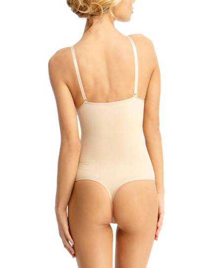 MeMoi Esigenti Thong Bodysuit Shaper With Underwire