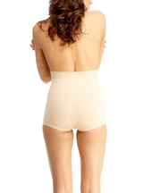 MeMoi Bosslady High Waisted Shaping Boyshorts