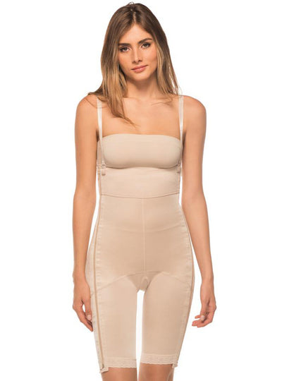 Annette Above the Knee Two Side Zipper Post Surgical Girdle