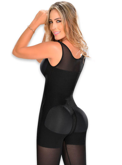 Fajas M & D Full Bodysuit Body Shaper with Bra
