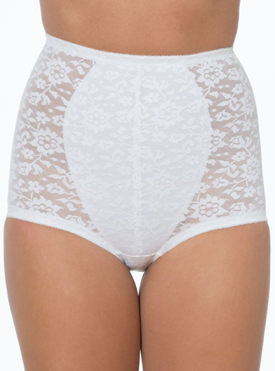 Rago High Waist Control Lace Brief