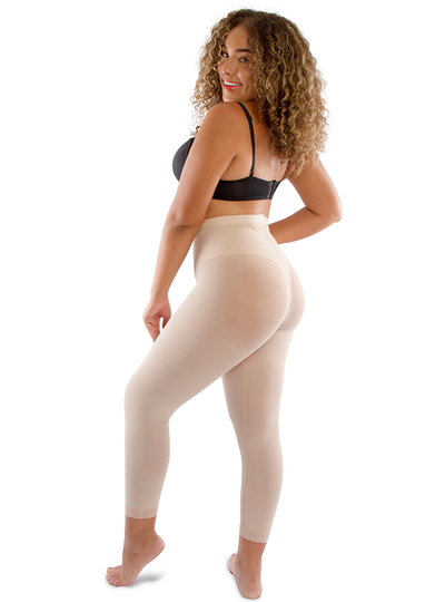 Equilibrium Slim Shapewear Girdle Powernet Long Leg Pants