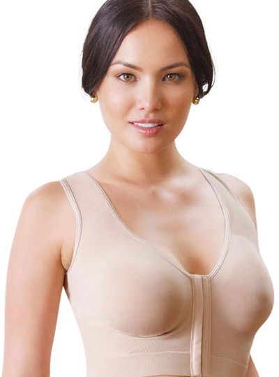 Annette Post Surgical Front Close Longline Recovery-Sleep-Leisure Bra