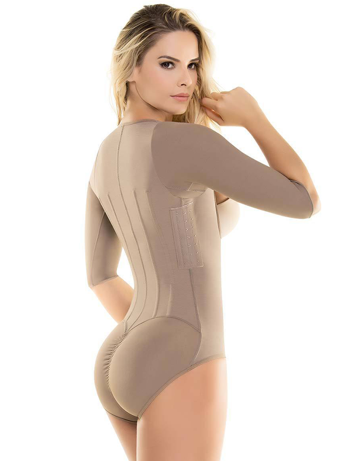 8b287dd82f Cysm Arms   Tummy Control Body Shaper with Removable Bra – Shapewear USA