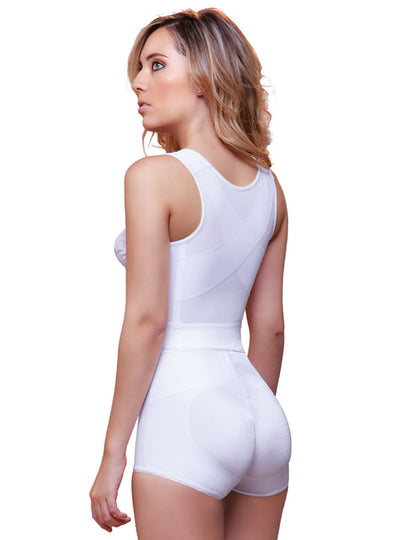 Vedette Front Close Longline With Back Support Bra