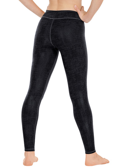 Euroskins Womens Distressed Contour Leggings