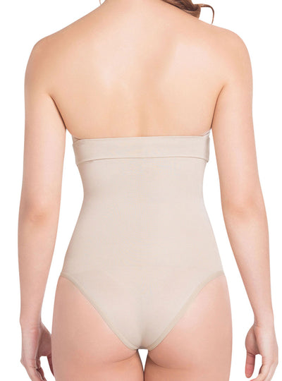 Siluet Light Compression Panty Style Strapless Body Shaper