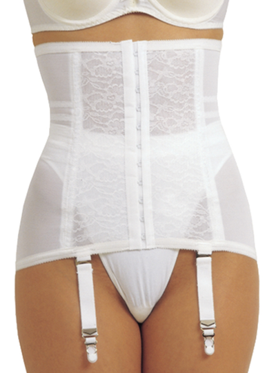 Rago Waist Trainer / Girdle With Garters Firm Shaping
