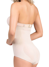 Cysm High-Waist Tummy Control Shaper in Boyshort - Thong
