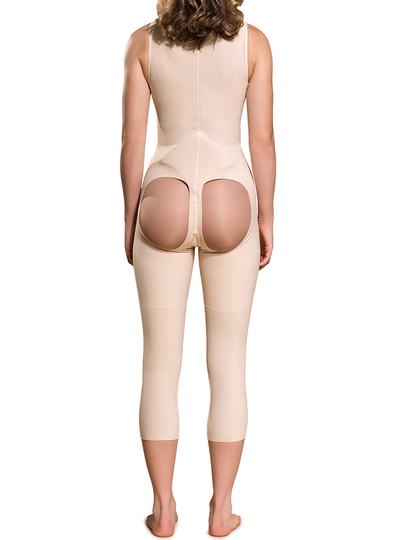 Marena Open Buttock Girdle - Calf Length