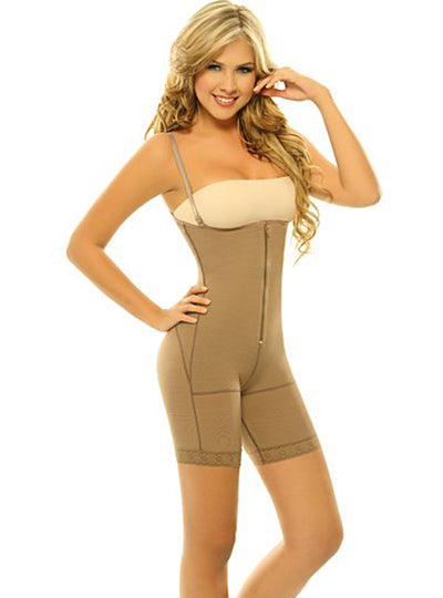 Siluet Postsurgical Slimming Braless Mid-Thigh Body Shaper