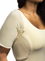 Wear Ease Axilla Compression T - Keep Chip Pads In Place With Pockets
