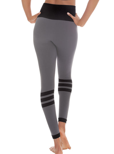 Euroskins Womens Striped Contour Leggings