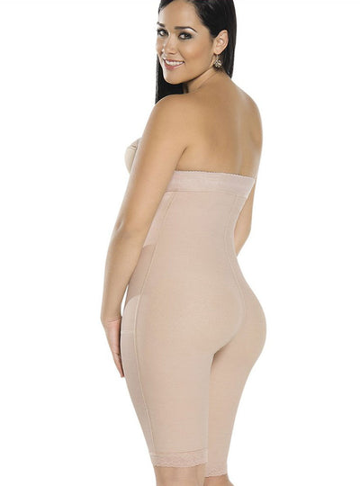 Equilibrium Firm Compression Girdle - Strapless Bodysuit