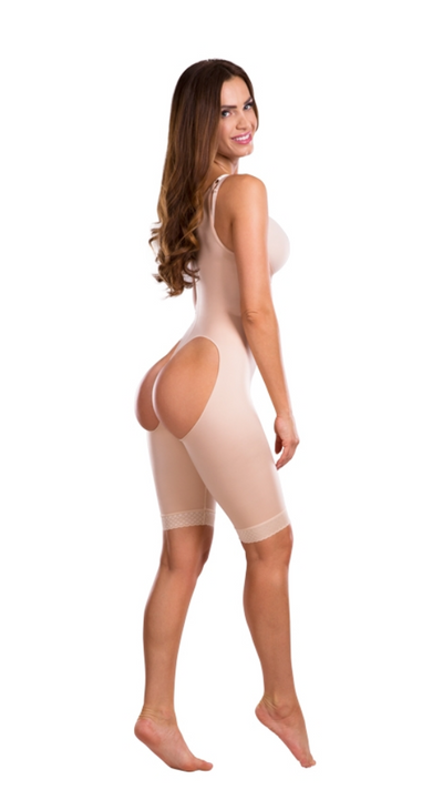 Lipoelastic VF Body BBO - Fat transfer compression girdle - open buttock