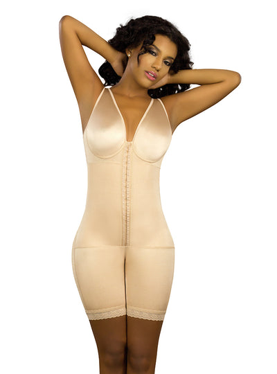 Vedette Mid-Thigh Body Shaper Preform at Breast Front Closure