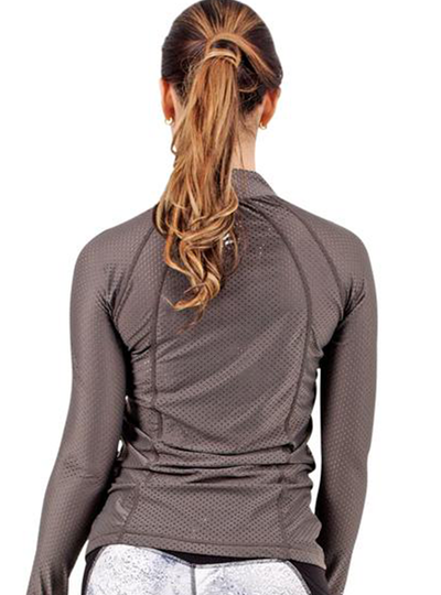 Flexmee Marble Mesh Jacket With Thumb Hole | Nylon