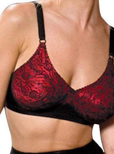 Rago Satin & Lace Fashion Bra
