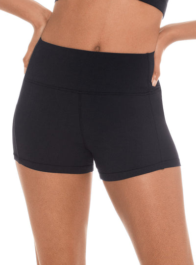 Euroskins Womens Tactel® Microfiber Flat Band Shorts