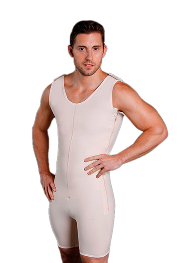 Caromed Sculptures Male Above the Knee Body Shaper
