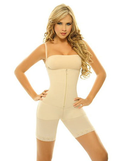 Siluet Slimming Braless Body Shaper with Butt Lifter