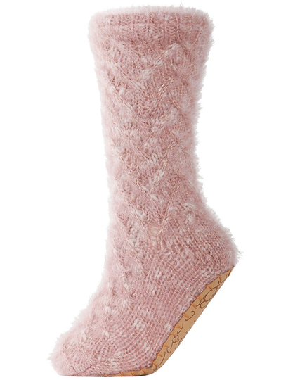 MeMoi Fifth Avenue Plush Lined Slipper Sock