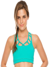 Flexmee Supplex Crop Top Brasiere Fitness for Ladies