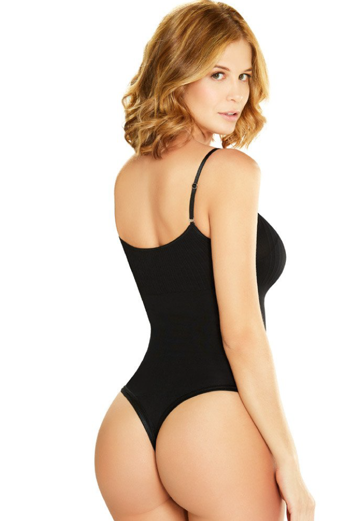 speical offer how to choose nice shoes Diane & Geordi Bodysuit Thong Shapewear