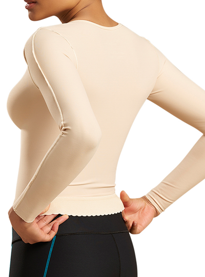 Marena Graduated Compression Vest - Long Sleeve