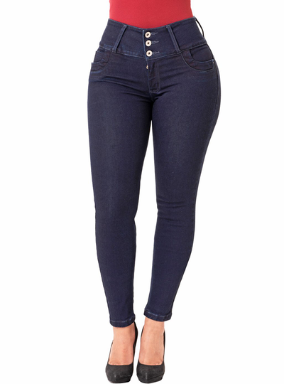 Lowla Colombian Butt-lifting Skinny Jeans without Pockets