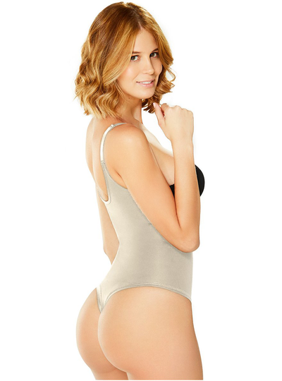 Diane & Geordi Bodysuit Girdle Tummy Shaper Thong