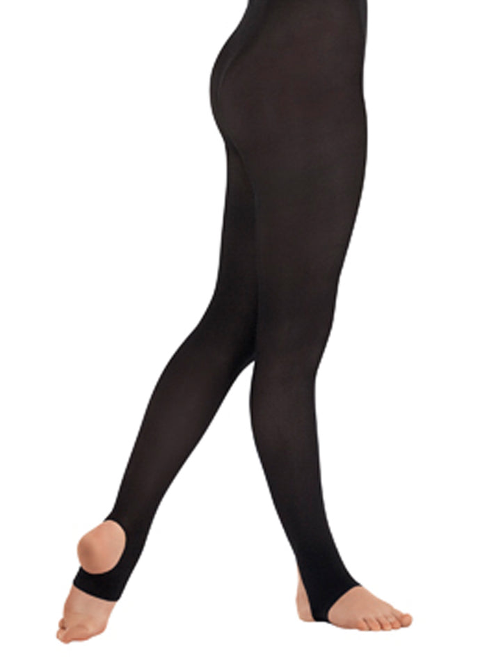 Euroskins Adult Non-Run Stirrup Tights