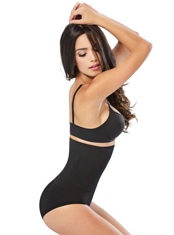 Curveez Seamless Double Layer High-Waist Panty