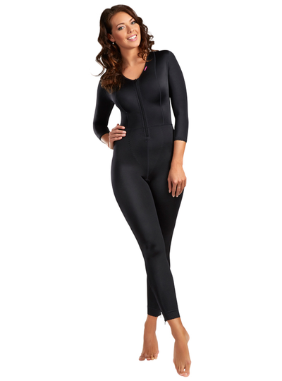 Lipoelastic MHB Comfort - Compression Catsuit - Front Zipper And Crotch Opening