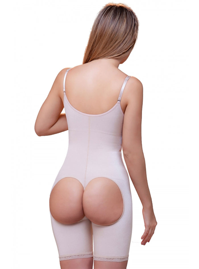 62adc88f4f4 ... Vedette Amelie Open Bottom Mid thigh Shaper w  Front Closure ...