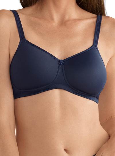 Amoena Mara Soft Bra - Dark Blue