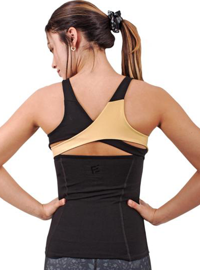 Flexmee Luxury Halter Racerback Top | Supplex 360