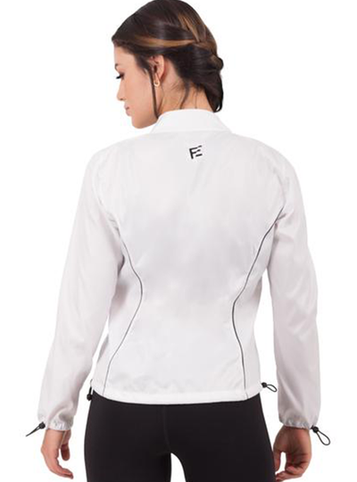 Flexmee Waves Athleisure Windbreaker With Pocket | Polyester