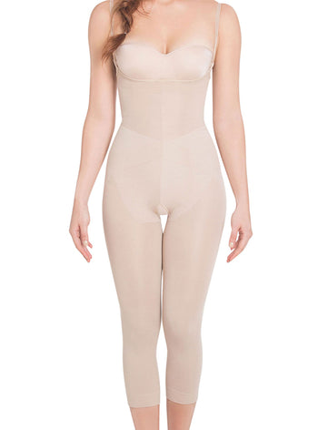 Siluet Light Compression Braless Full Body Shaper