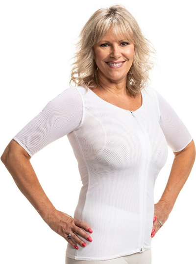 Wear Ease No Pads New! Andrea Compression Shirt